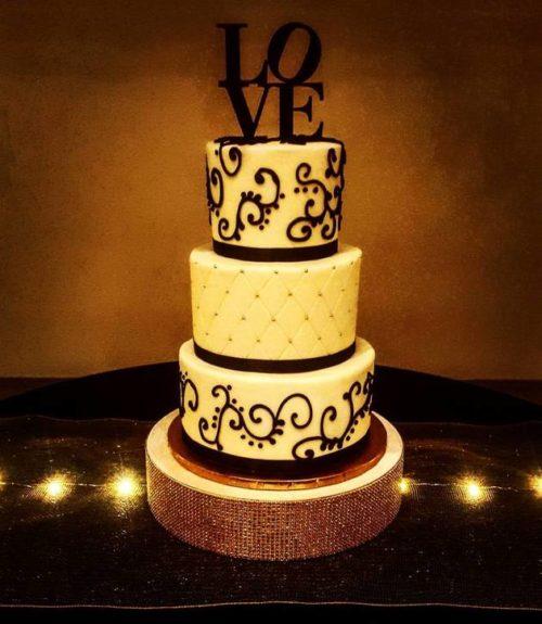 Wedding Love Cake