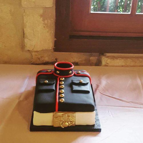 Marine Groom's Cake