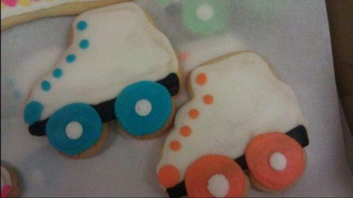Rollerskate Cookies