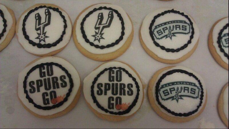 Spurs Cookies