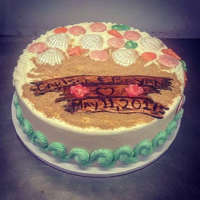 Marine Ball Cake